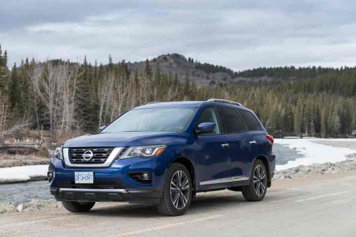 In Pictures: 2017 Nissan Pathfinder Platinum Overview