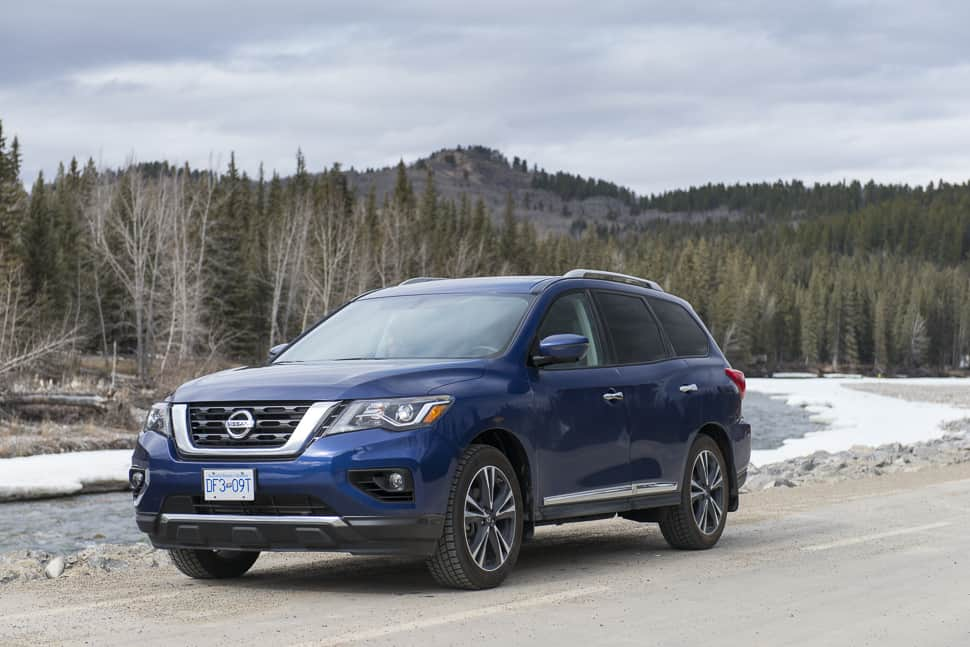 In Pictures: 2017 Nissan Pathfinder Platinum Overview