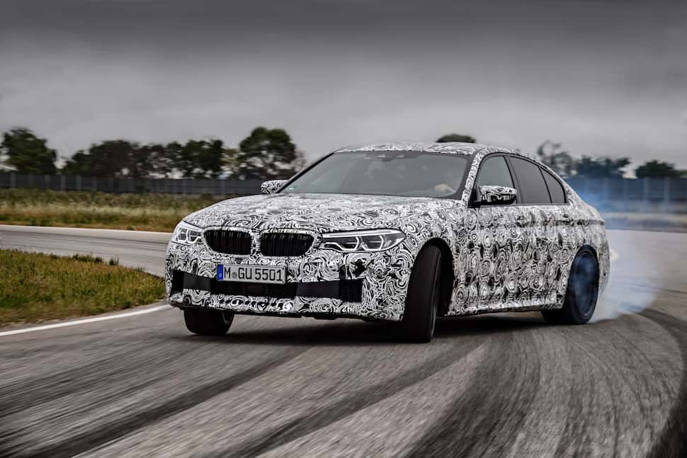 2018 BMW M5 Sneak Peak