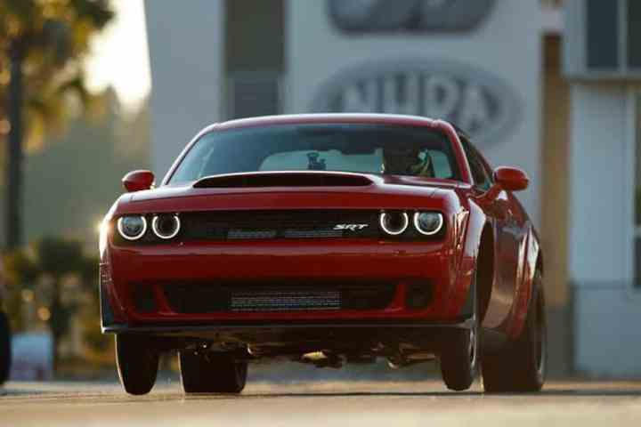 2018 Dodge Challenger SRT Demon front wheels up