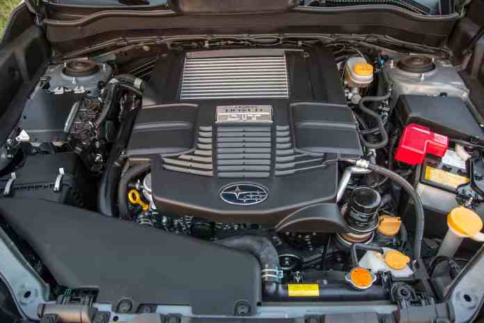 2018 Subaru Forester engine