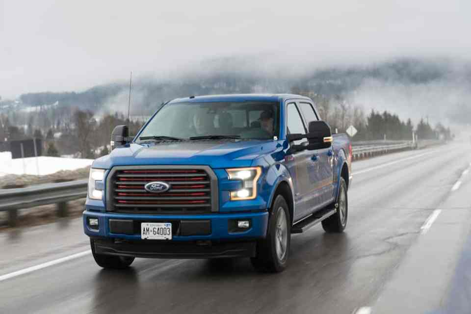 In Pictures: 2017 Ford F-150 SuperCrew with New 10-Speed Automatic