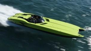 Lamborghini Aventador SV Speedboat topview
