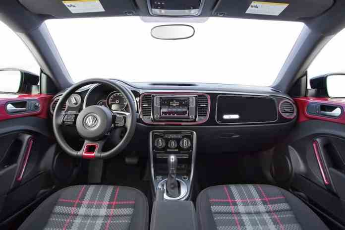 2017 VW Beetle Pink Edition Review interior
