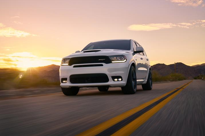 2018 Dodge Durango SRT low front rolling
