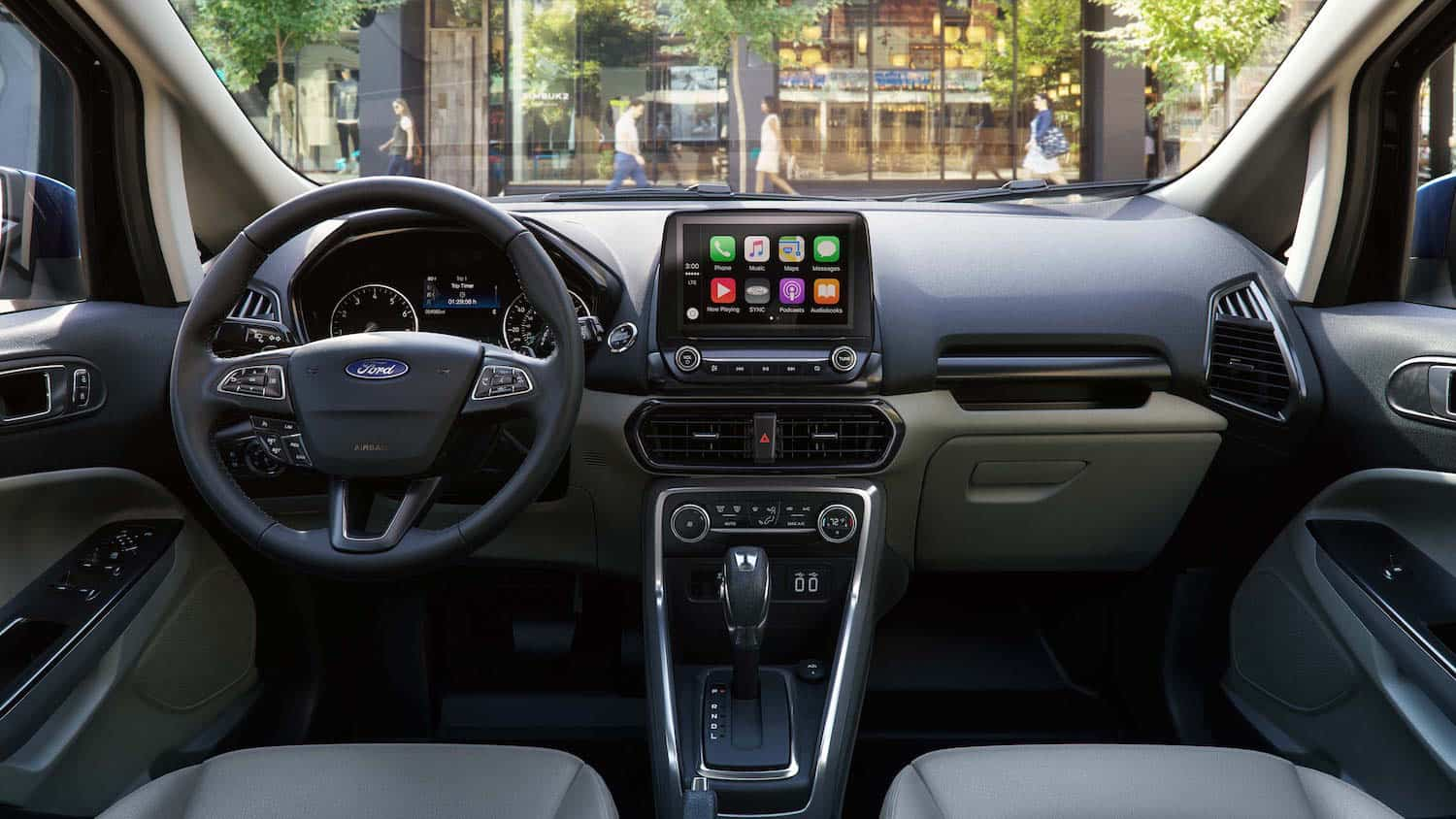 2018 Ford EcoSport interior front cabin