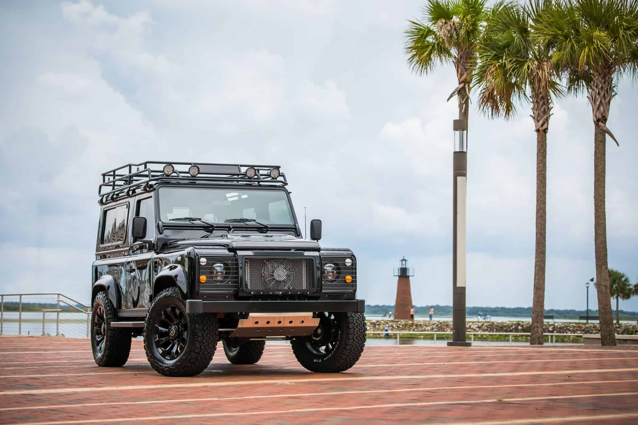 Project Blackout Defender 90 A 326 hp Daily Driver Machine by EDC