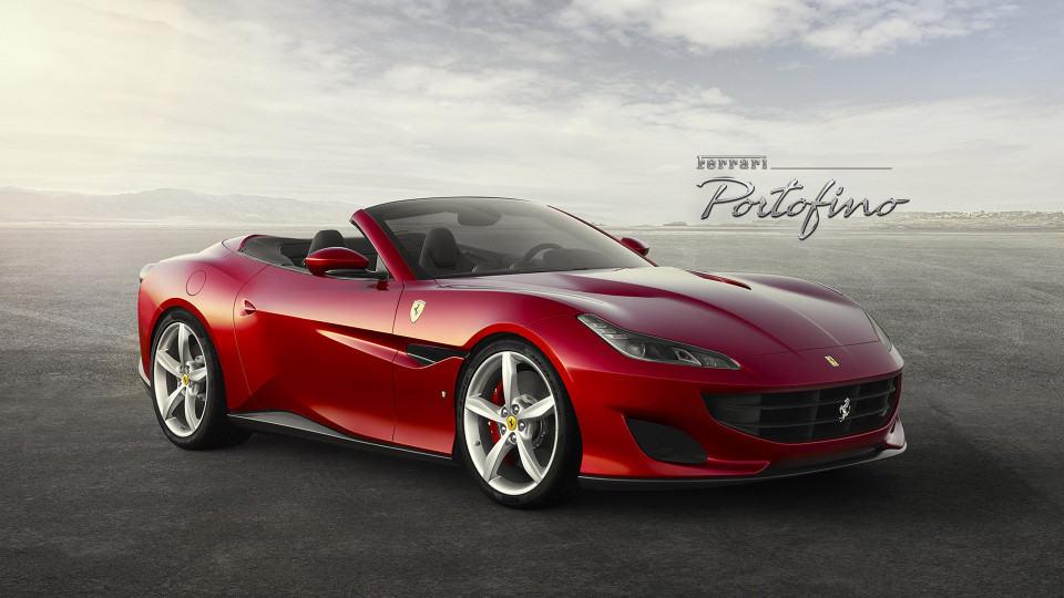 2018 Ferrari Portofino front