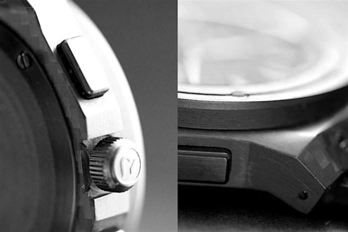 Carbon Renegade Carbon Fiber Watch features