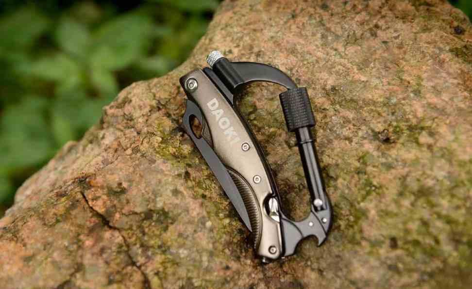 Daoki 7 In 1 Multi-Tool Carabiner