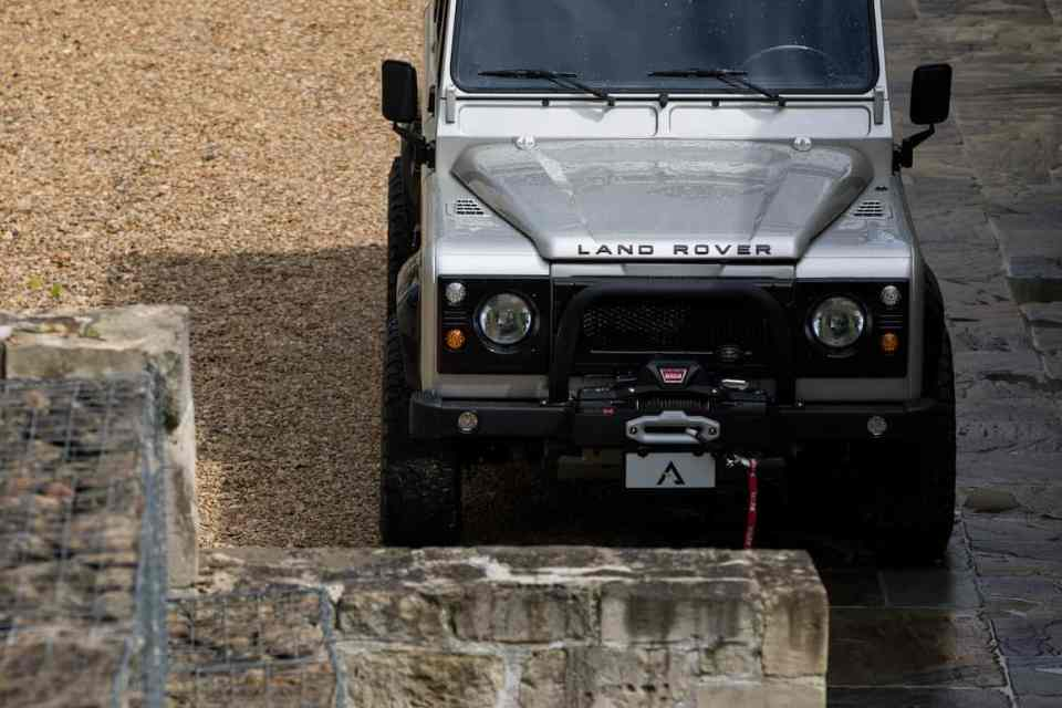 1991 SHACKLETON Defender D110 Adventure Edition by Arkonik