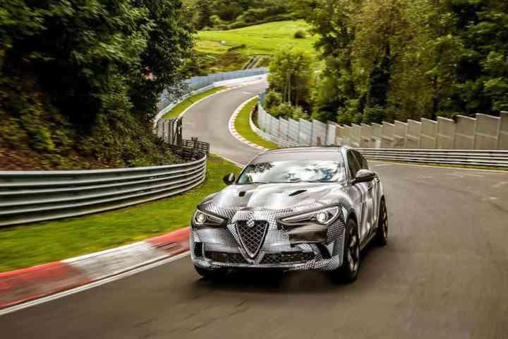 2018 Alfa Romeo Stelvio Quadrifolio Nürburgring SUV record