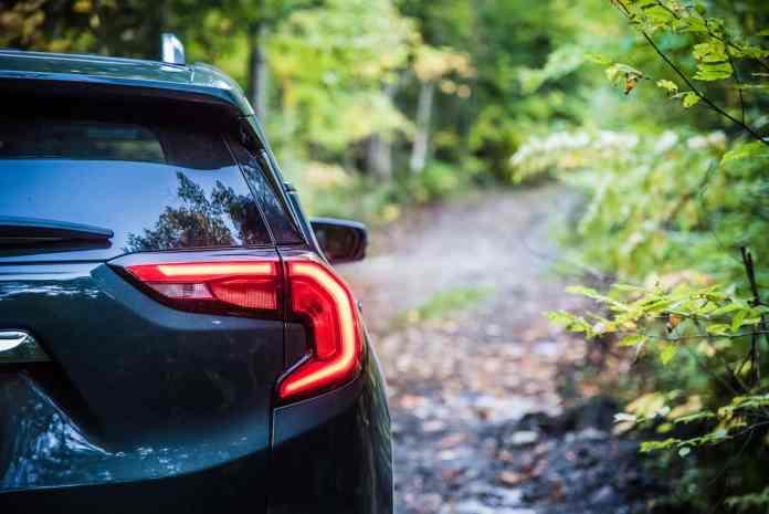 2018 GMC Terrain rear taillight