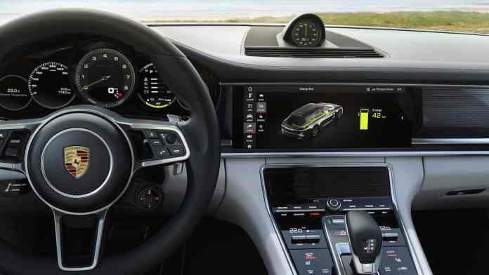 2018 Porsche Panamera Turbo S E-Hybrid Sport Turismo interior
