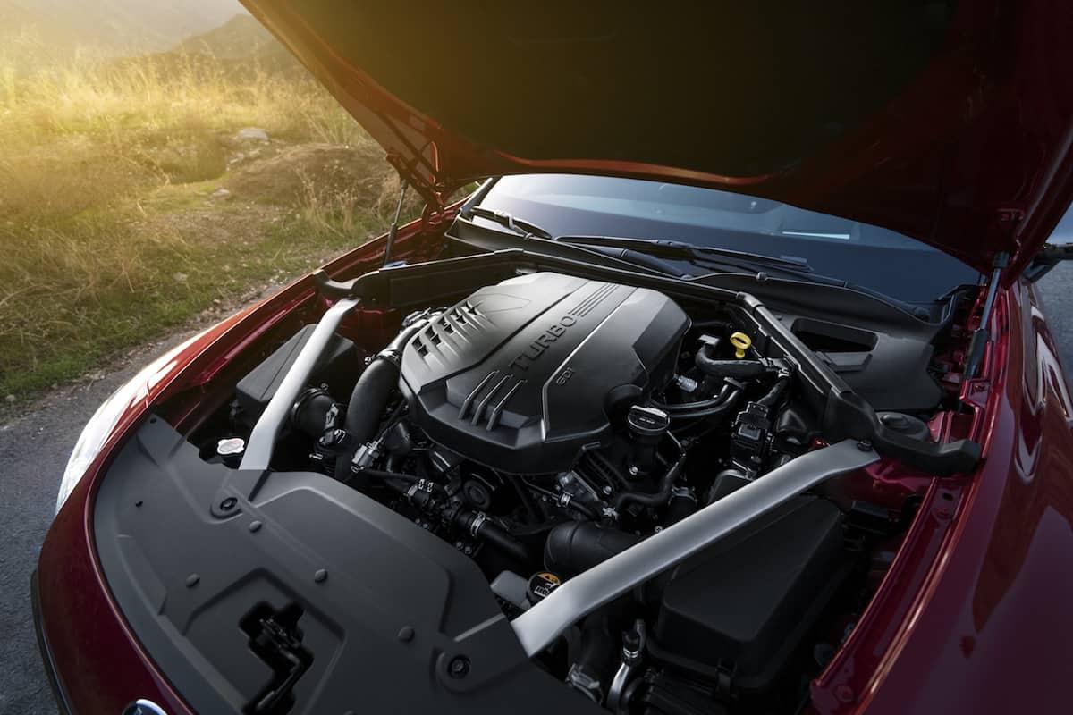 2018 kia stinger gt engine