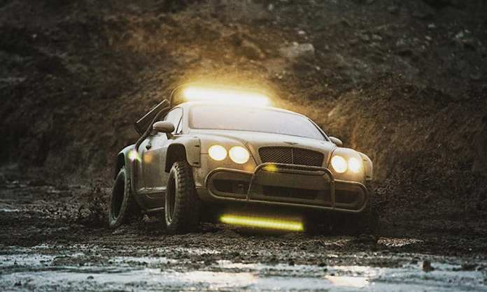 Bentley Continental GT Rally Edition front