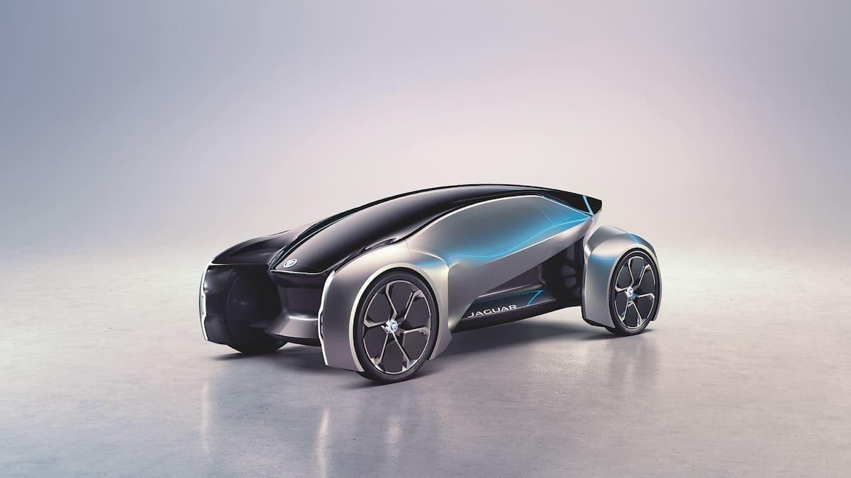 Jaguar Future-Type Concept frontview rendering