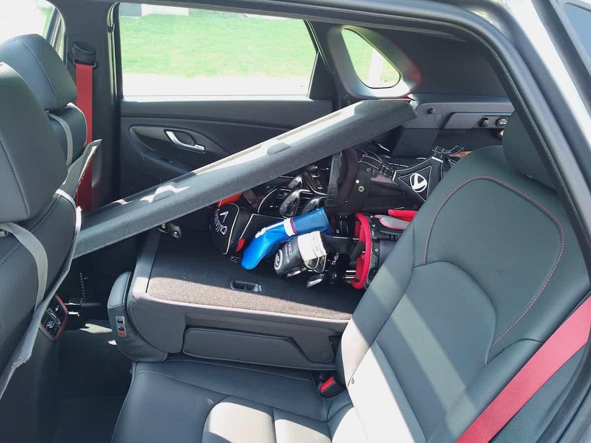 2018 Elantra GT Sport hatchback review cargo