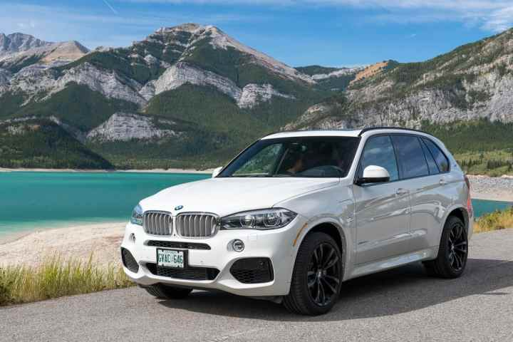 2017 bmw x5 xDrive40e plugin hybrid review front