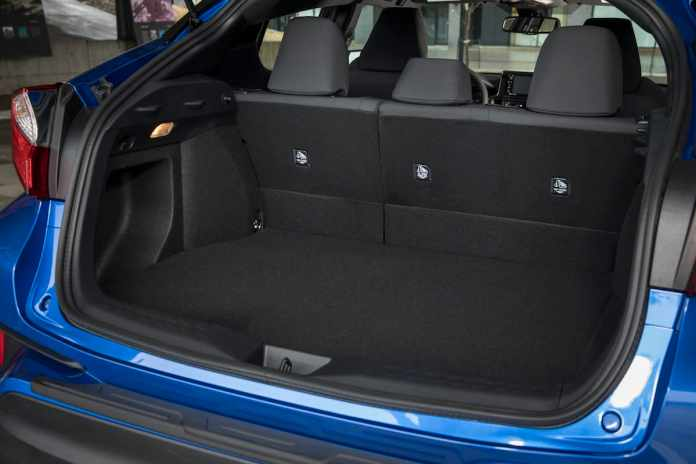 2018 Toyota C-HR Review rear cargo
