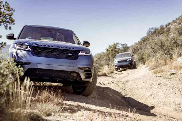 Going Off-the-Grid with the 2018 Range Rover Velar in the Cali Desert