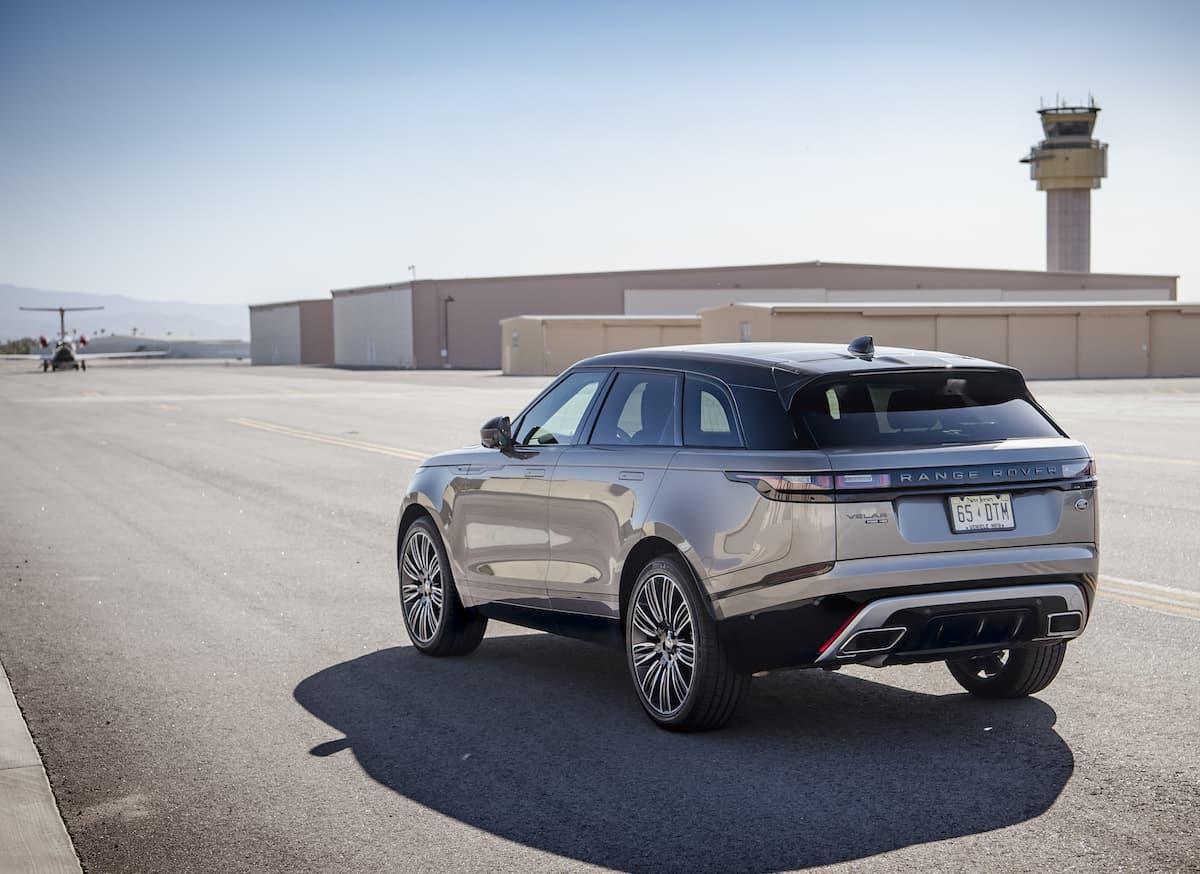 2018 range rover velar review rear profile