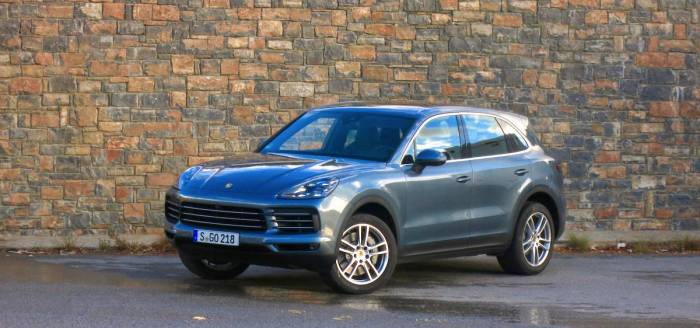 2019 porsche cayenne review first drive
