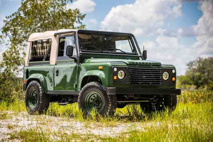 Project Barbour Heritage Edition Defender 90 front