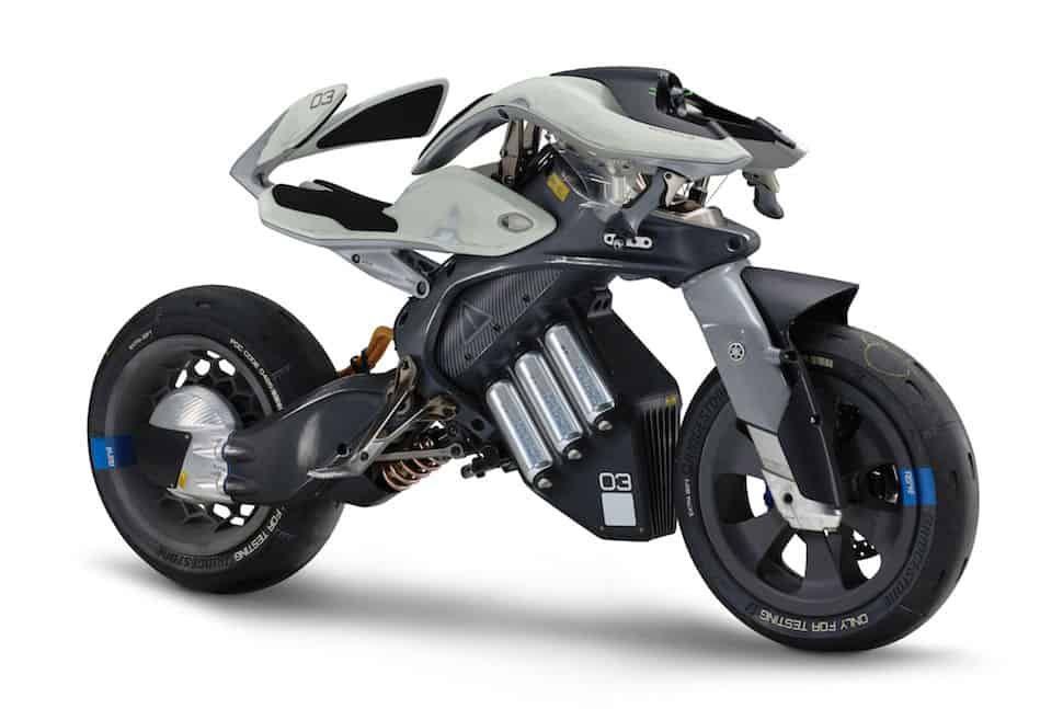 yamaha motoroid concept motorcycle