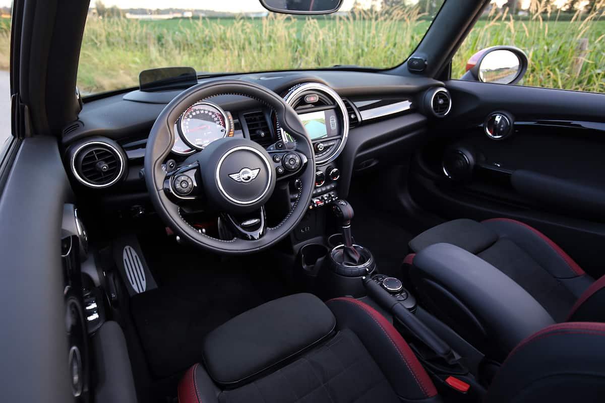 2017 MINI Cooper Convertible John Cooper Works interior