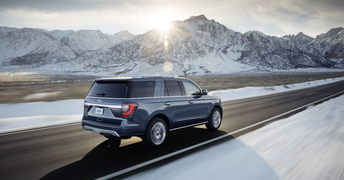 2018 Ford Expedition rear rolling