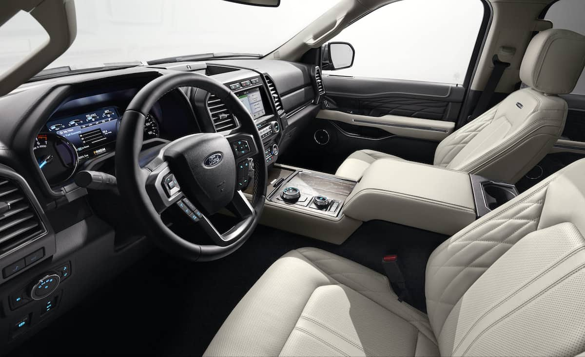 2018 Ford Expedition interior