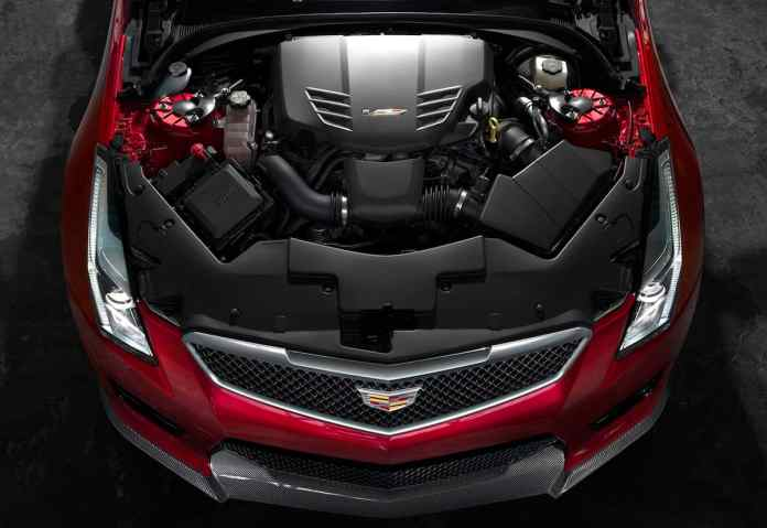 2017 Cadillac ATS-V engine