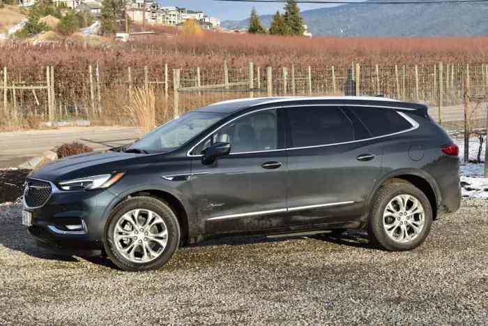2018 Buick Enclave First Drive Review side view front