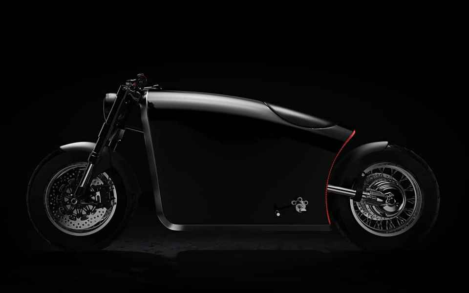 Bandit9 Project Odyssey Motorcycle side view