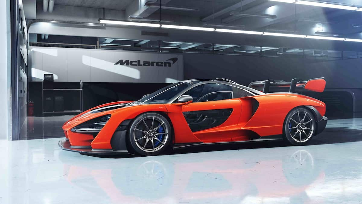 The 789-hp McLaren Senna