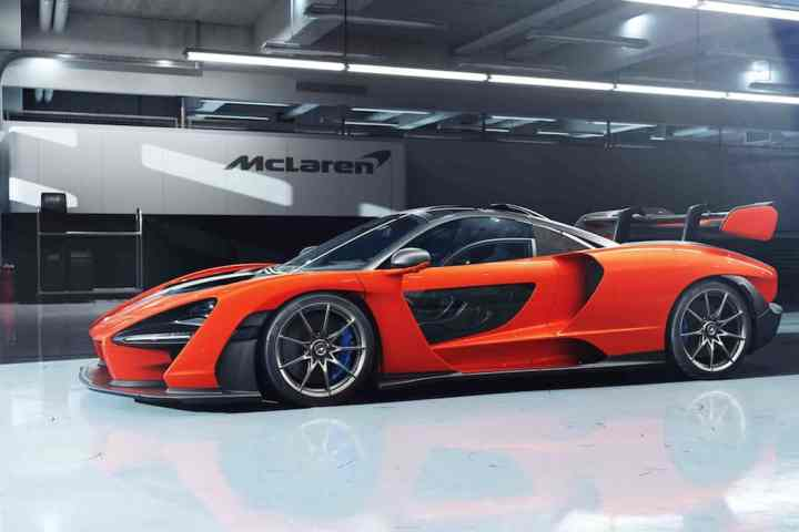The 789-hp McLaren Senna Road-Legal Racer Pays Homage to Ayrton's Legacy