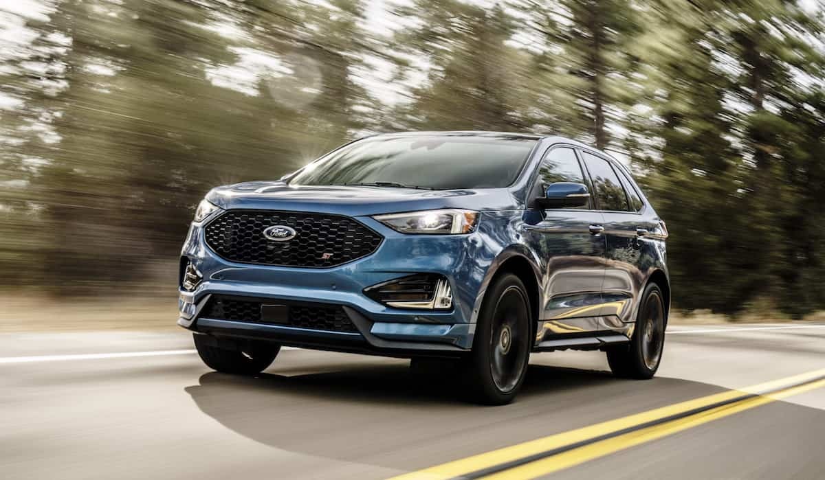 New 335 Hp 2019 Edge St Joins The Ford Lineup Summer 2018