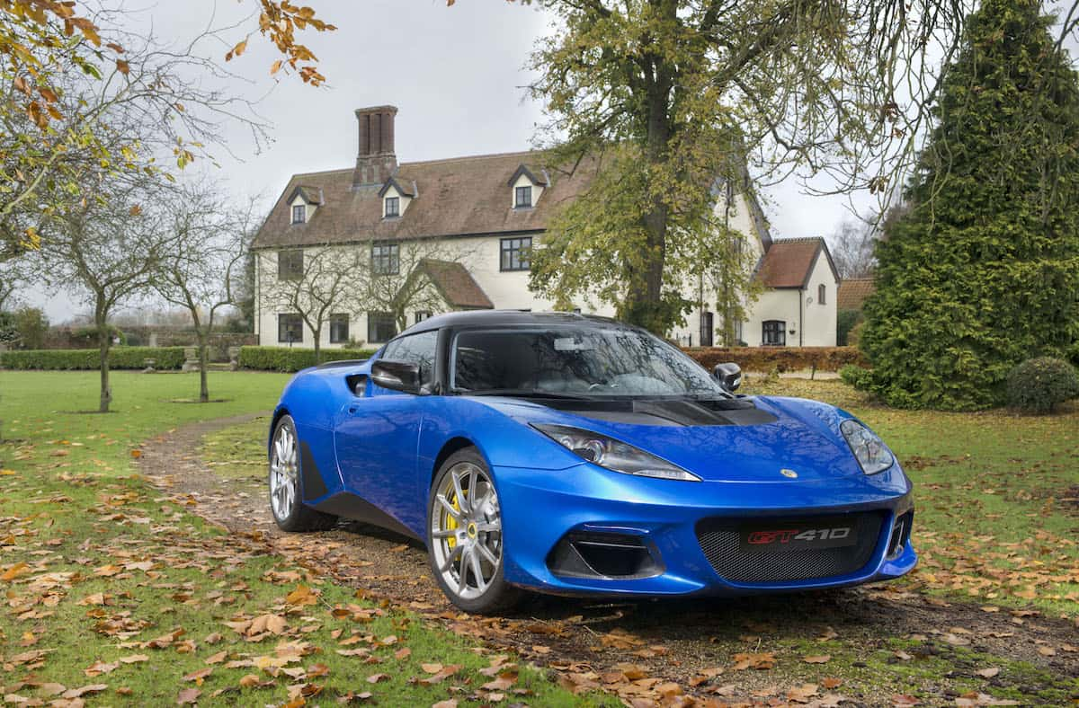 Lotus Evora GT410 Sport January 2018 (1)
