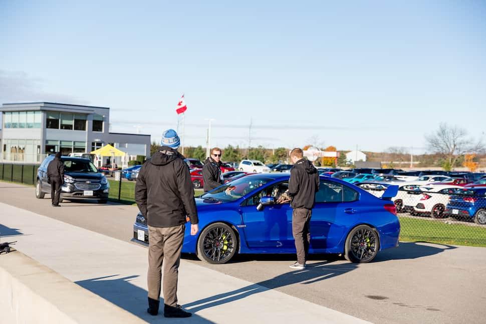 ajac testfest 2017 car lot