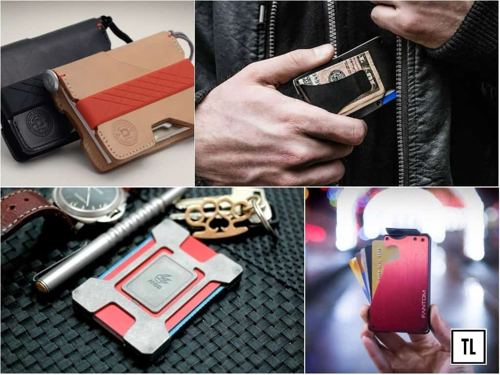 best minimalist wallets for men on the go