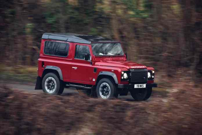 new defender 2018 land rover 70th anniversary edition rolling