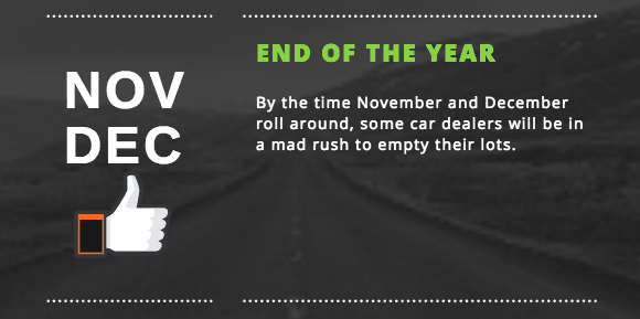 best time to buy new car end of year