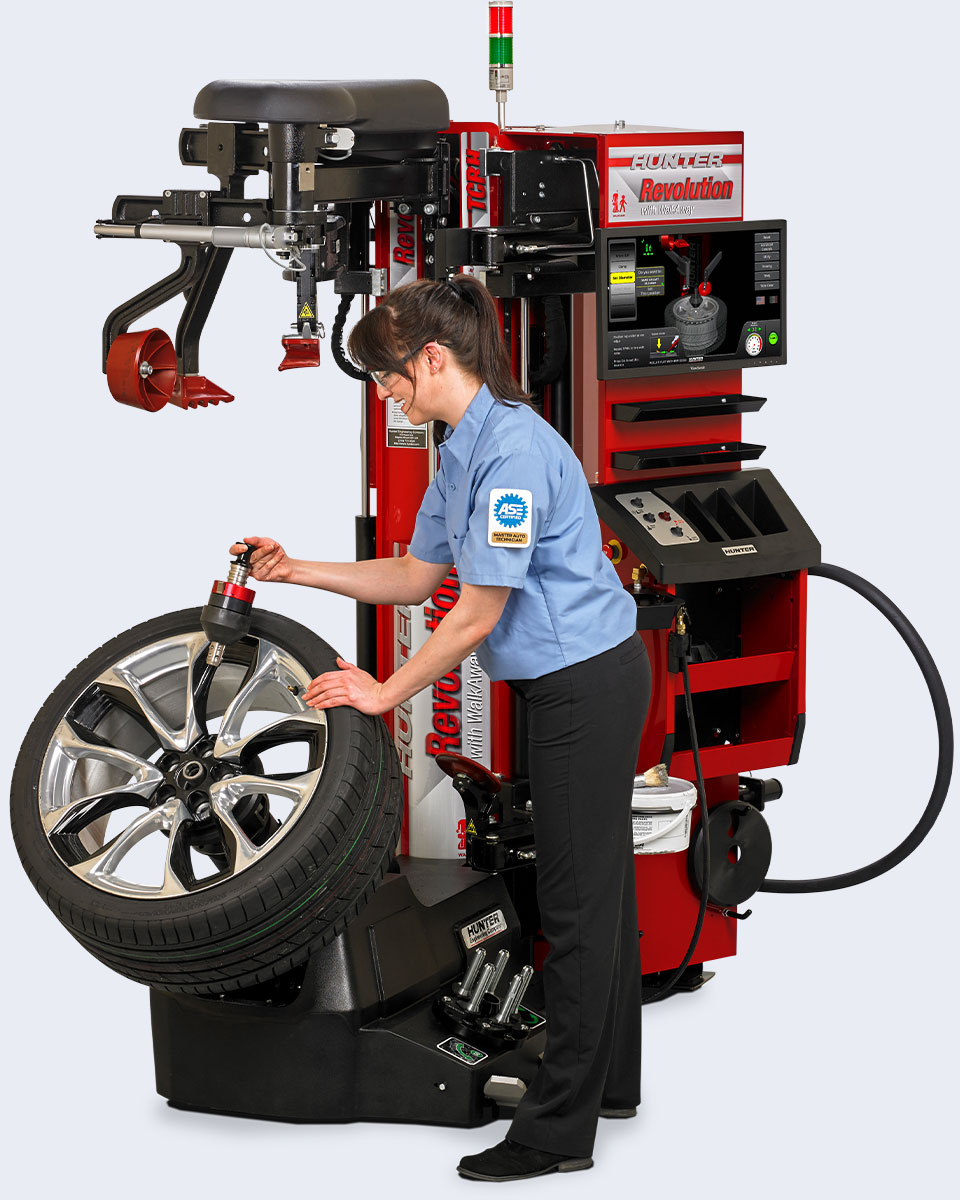 Hunter Engineering releases fourth-generation Revolution Tire Changer