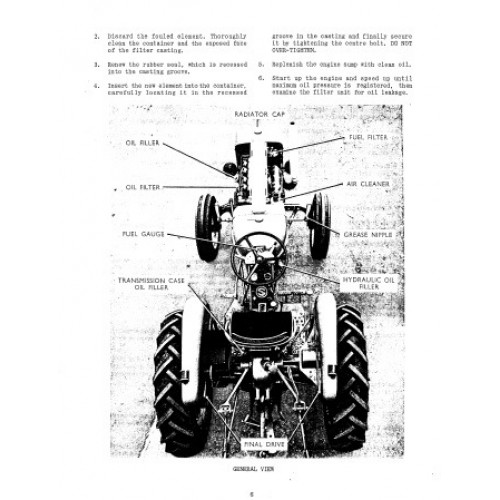 Allis-Chalmers ED-40 Operators Manual