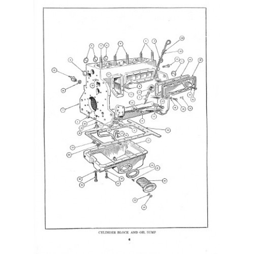 Allis-Chalmers ED-40 Parts Manual