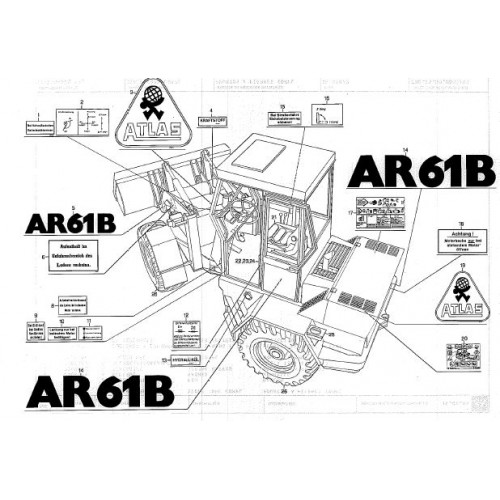 Atlas AR 61 B Parts Manual
