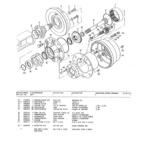 Atlas 804M Parts Manual