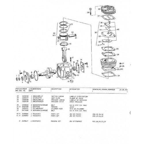 Atlas 1004 Parts Manual