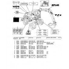 Atlas 1004 Serie 105 Parts Manual
